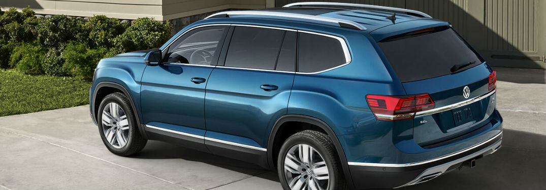 Two available engine options offered in 2019 Volkswagen Atlas SUV deliver excellent power and performance specs