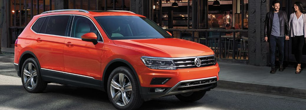 2019 Volkswagen Tiguan front and side profile