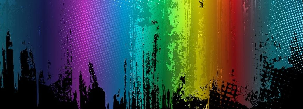 multi-color-illustration-with-rainbow-color-scheme-and-black-splatters