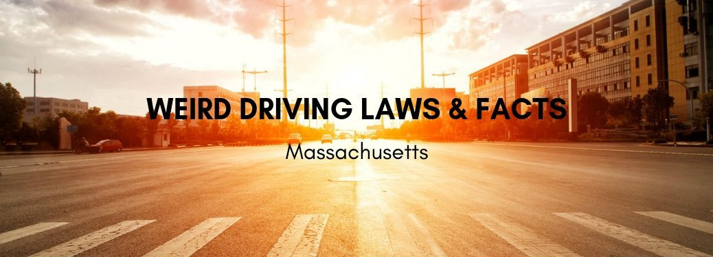 road-at-sunset-with-weird-driving-laws-and-facts-in-Massachusetts-title
