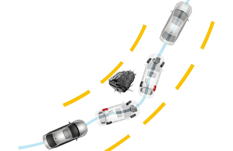 diagram of a 2020 Volkswagen Jetta  stability-enhancing system