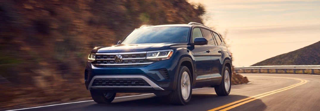 Powerful horsepower and torque ratings available in the 2021 Volkswagen Atlas
