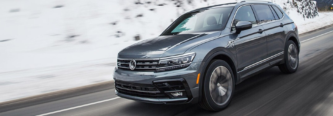 2020 Volkswagen Tiguan is available in 7 different paint color options
