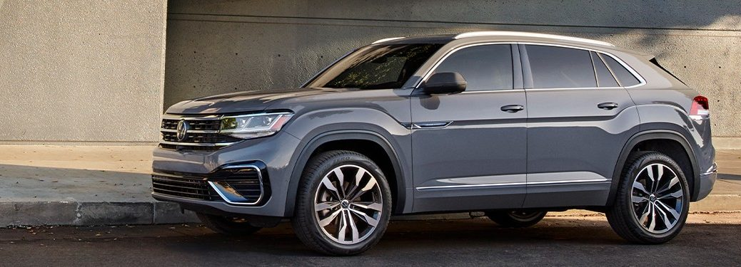 2021 Volkswagen Atlas Cross Sport parked on a street