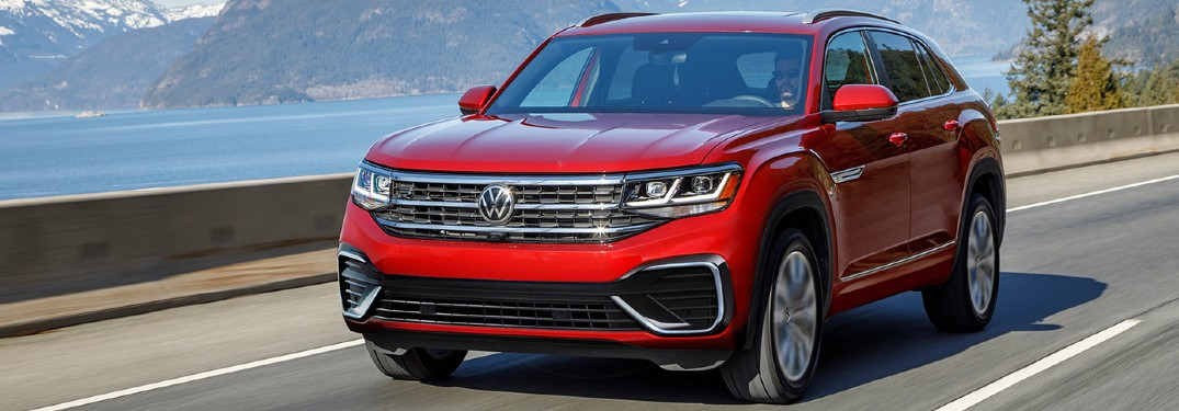 Impressive list of drive-assist safety features available in new 2021 Volkswagen Atlas Cross Sport
