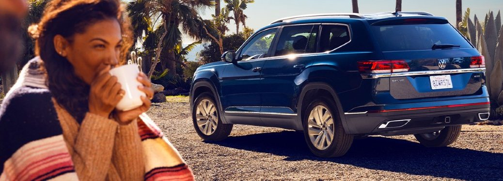 2021 Volkswagen Atlas side and rear profile