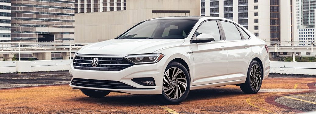 2021 Volkswagen Jetta front and side profile