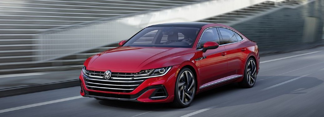 2021 Volkswagen Arteon driving on a road