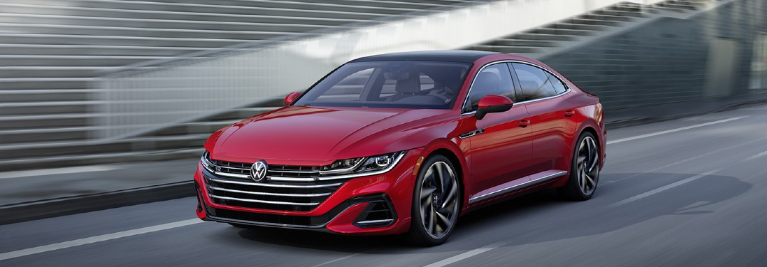 7 Exterior paint color options to choose from when buying a new 2021 Volkswagen Arteon luxury sedan