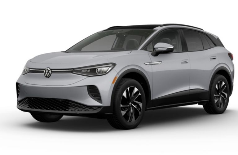 2021 VW ID.4 Pro S in moonstone gray color