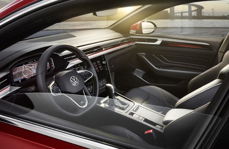 front interior view of the 2021 VW Arteon