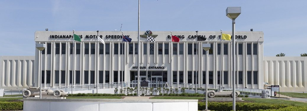 Indianapolis Motor Speedway Hall of Fame Museum exterior view