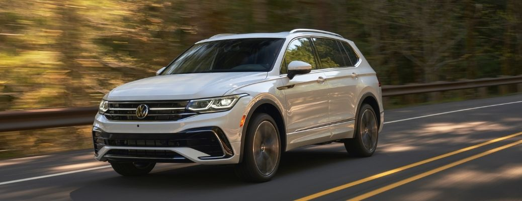 front quarter view of the 2022 VW Tiguan