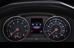 2020 VW Golf GTI driver display