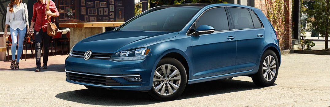 How much space is in the 2020 Golf?