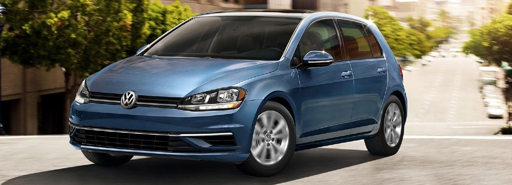 2020 Volkswagen Golf front and side profile