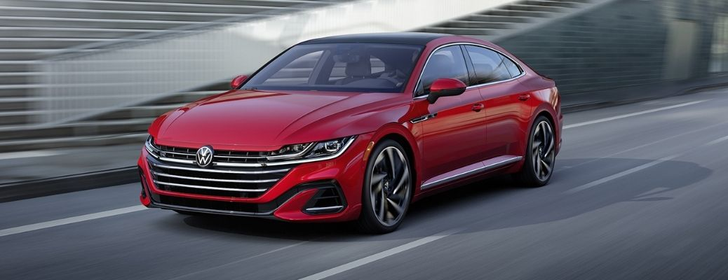 front quarter view of the 2021 VW Arteon