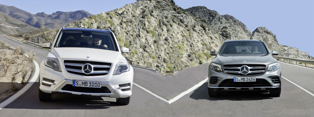 What is the difference between the Mercedes-Benz GLC and the