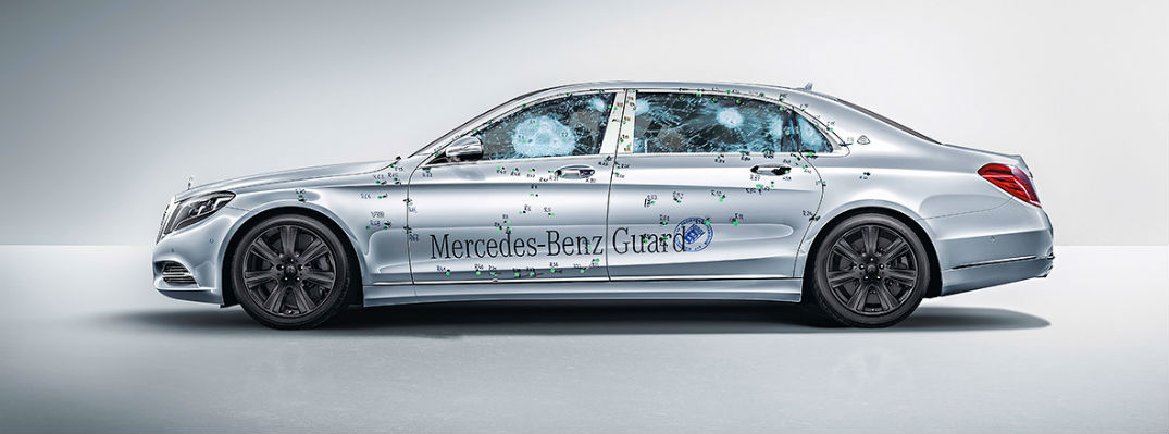 Mercedes Maybach S 600 Guard Safety Features