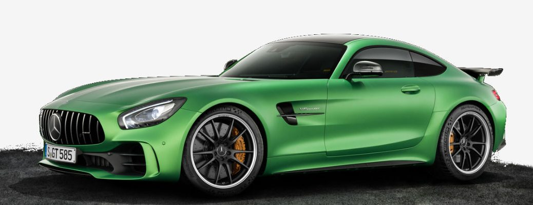 2018 Mercedes-AMG GT R Green Hell Magno Color