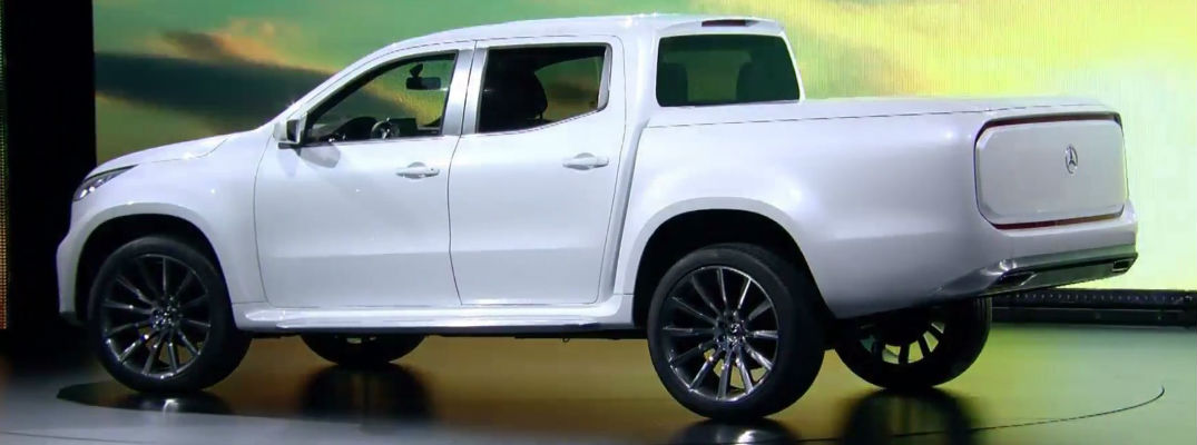 The Mercedes-Benz Pickup For The Urban Explorer