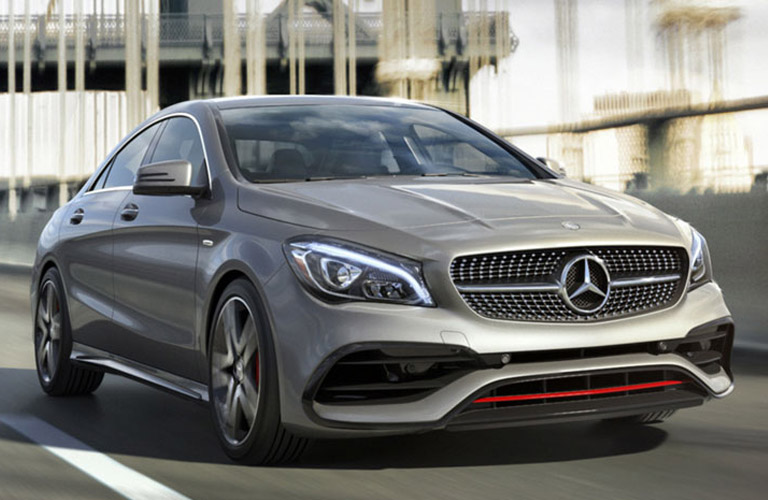 2018 Mercedes Benz Cla Coupe Amg Line Package