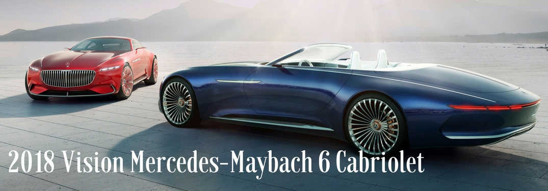 Is the Vision Mercedes-Maybach 6 Cabriolet the Most Luxurious Vehicle Ever?