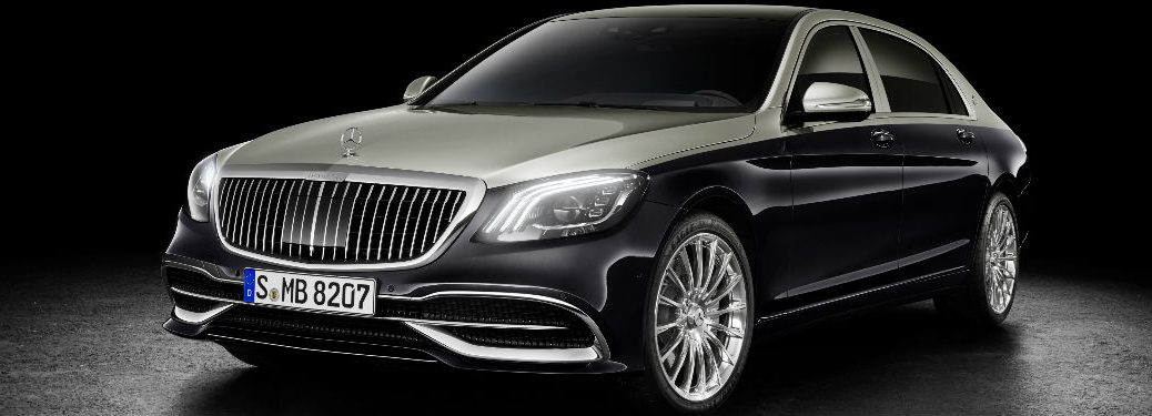 2019 Mercedes-Maybach in Black Front View