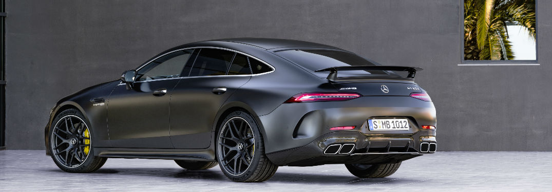 2019 Mercedes-AMG® GT 4-Door Coupe Engine Options and