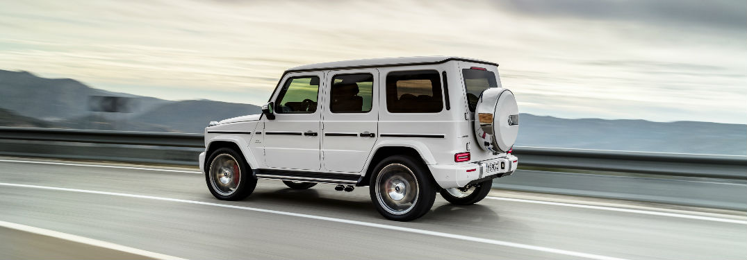 Does the 2019 Mercedes-Benz G-Class offer AMG® DYNAMIC SELECT?