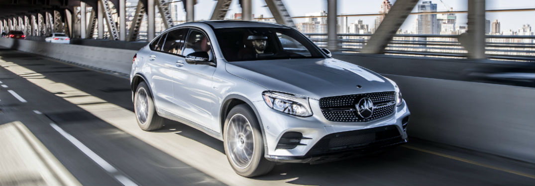 How do the 2018 GLC Coupe and 2018 GLE Coupe compare?