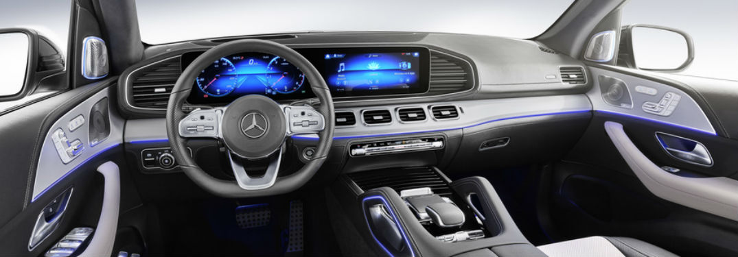 What are the driver-assist technologies in the 2020 Mercedes-Benz GLE?