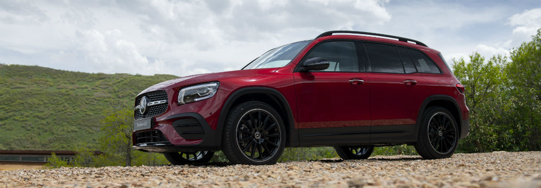 Optional features in the 2020 Mercedes-Benz GLB