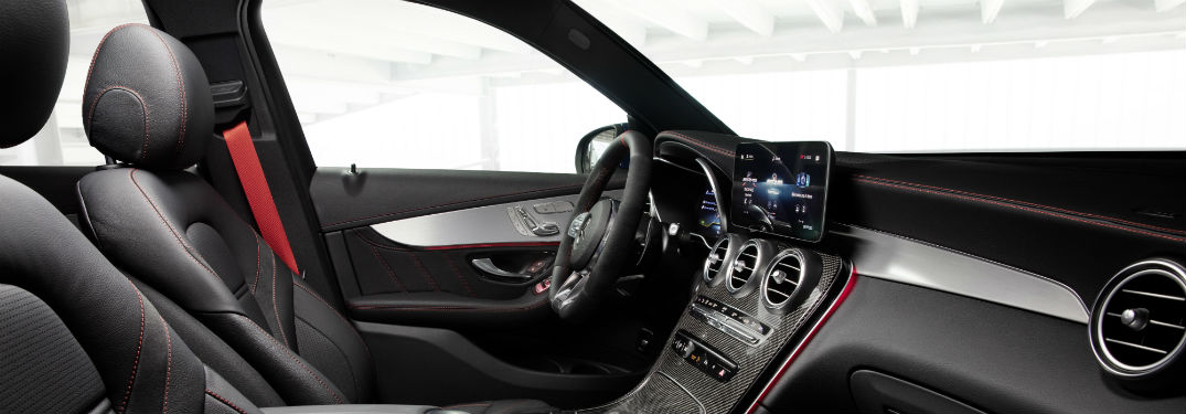 How much space is in the 2020 Mercedes-Benz GLC?