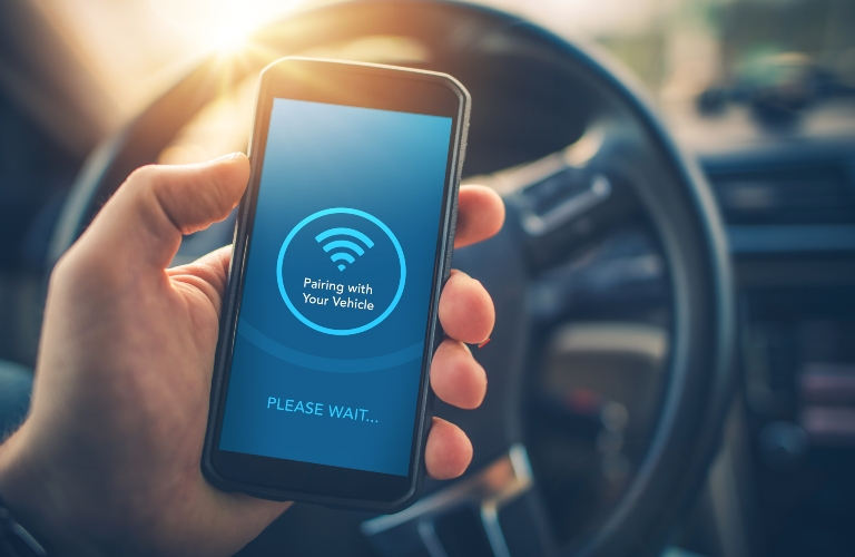 Phone Pairing with Vehicle