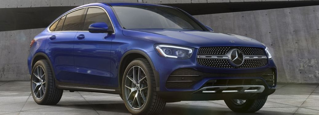 2020 MB GLC Coupe exterior front fascia passenger side