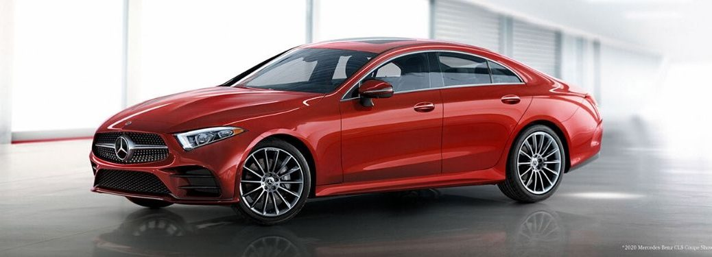 2021 MB CLS exterior front fascia driver side in front of windows