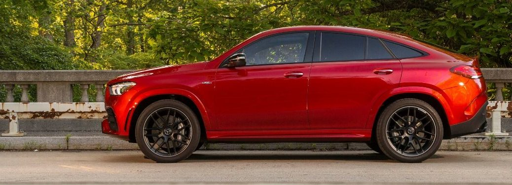 2021 MB AMG GLE Coupe exterior driver side profile
