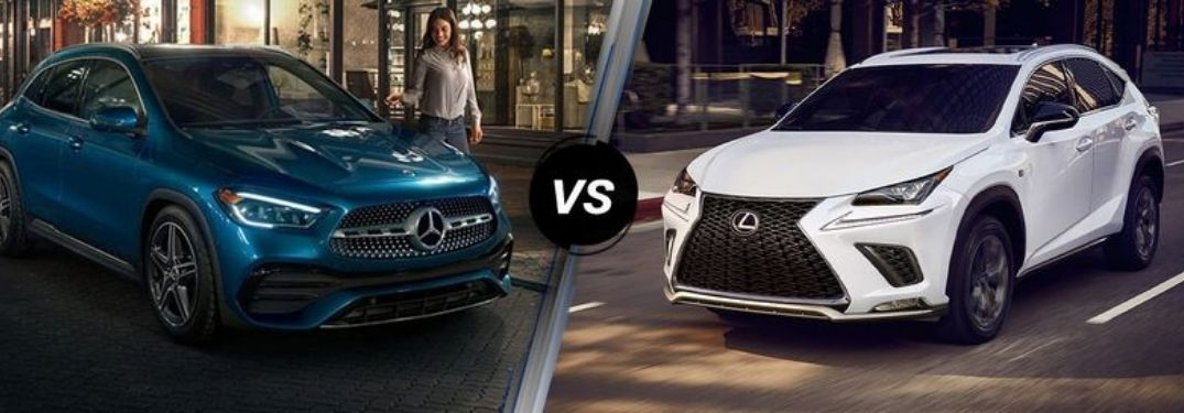 Are there many differences between a Lexus and a Mercedes-Benz?