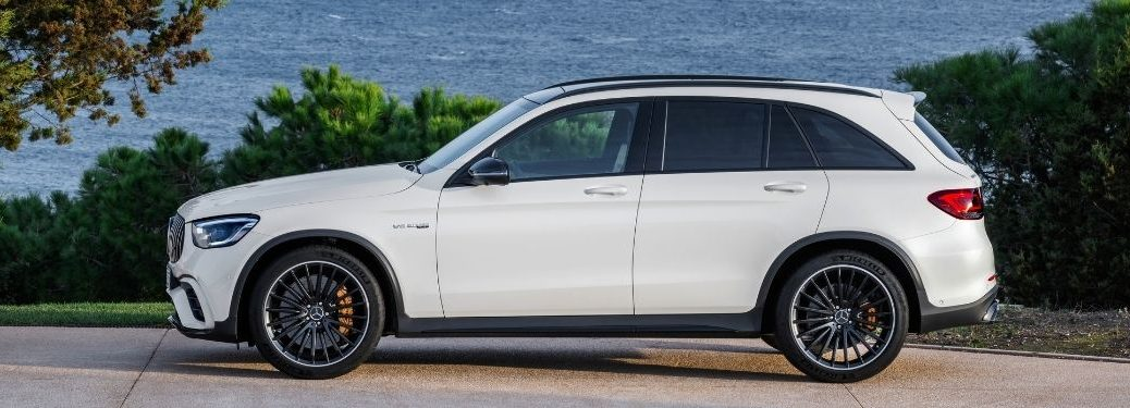 2022 MB GLC exterior driver side profile