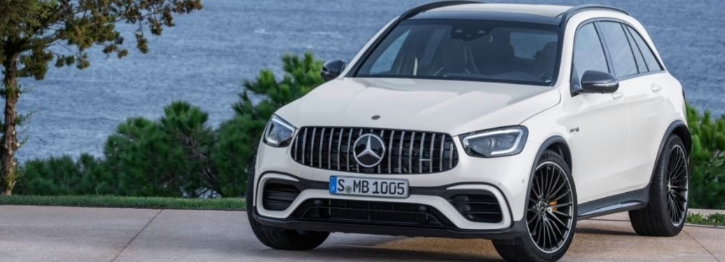 2022 MB GLC exterior front fascia driver side in front of water