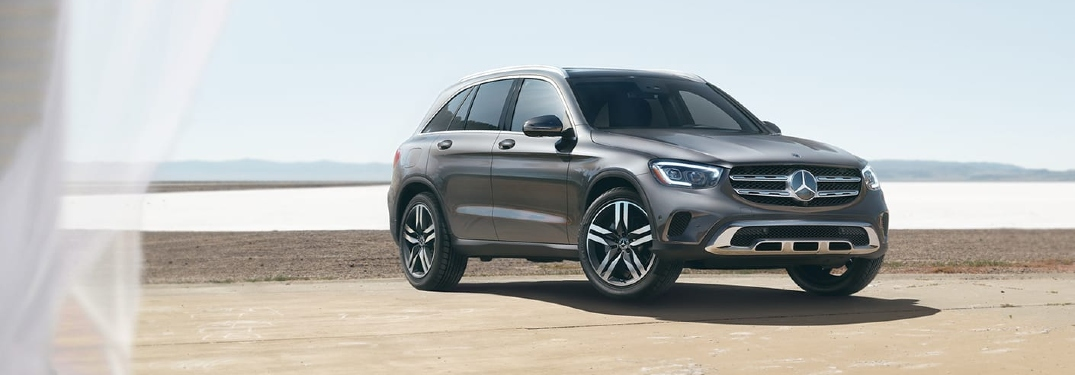 How much cargo space does the 2021 GLC have?