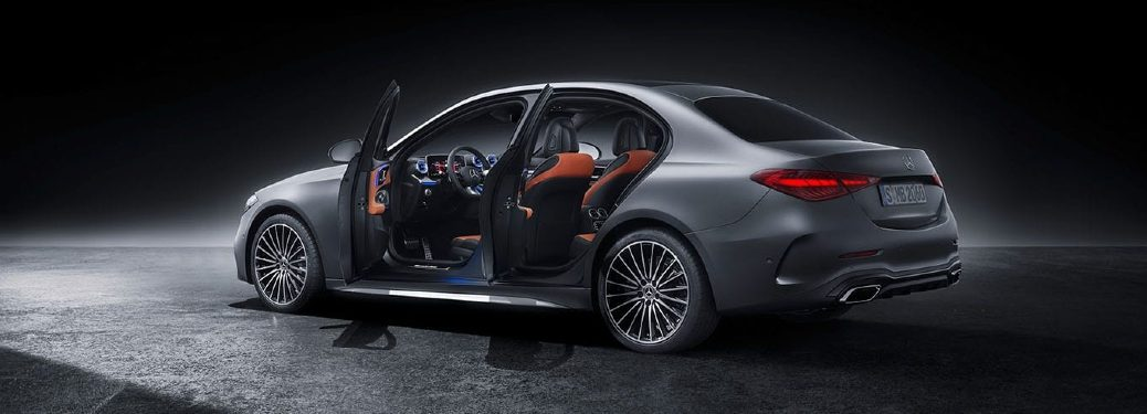 2022 C-Class side view with doors open
