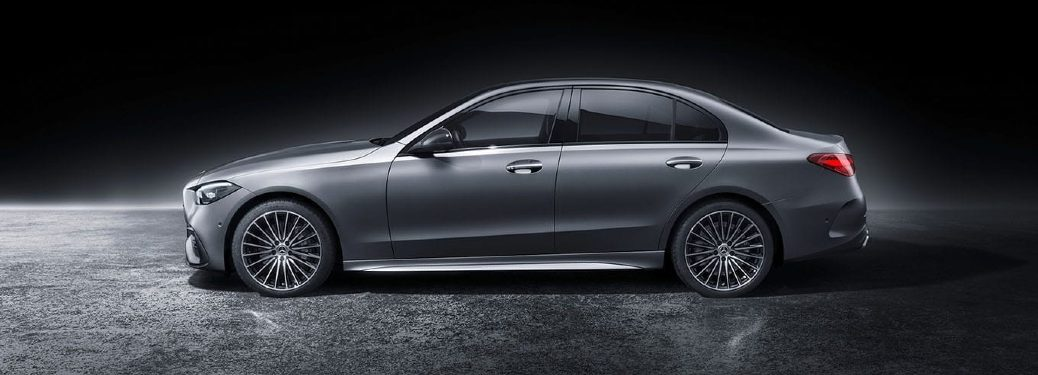 2022 C-Class side view