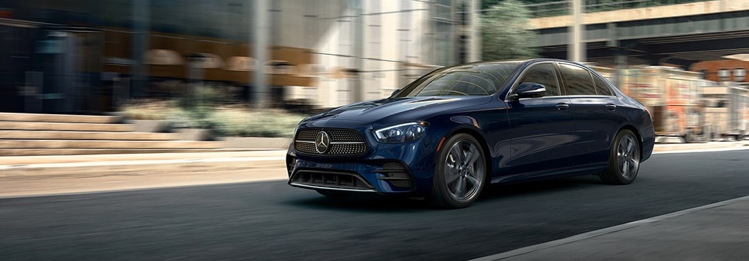 Which features does the 2021 Mercedes E-Class have?
