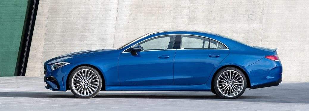 2022 CLS Coupe side profile