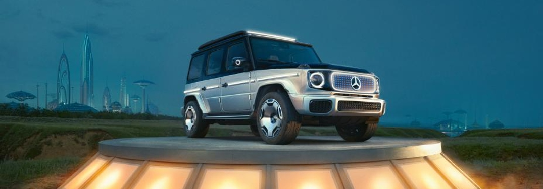 Does Mercedes make a G-Class electric vehicle?
