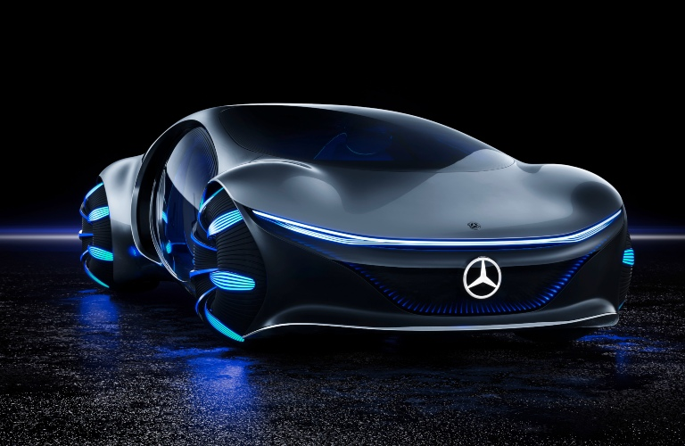 Mercedes-Benz VISION AVTR front view