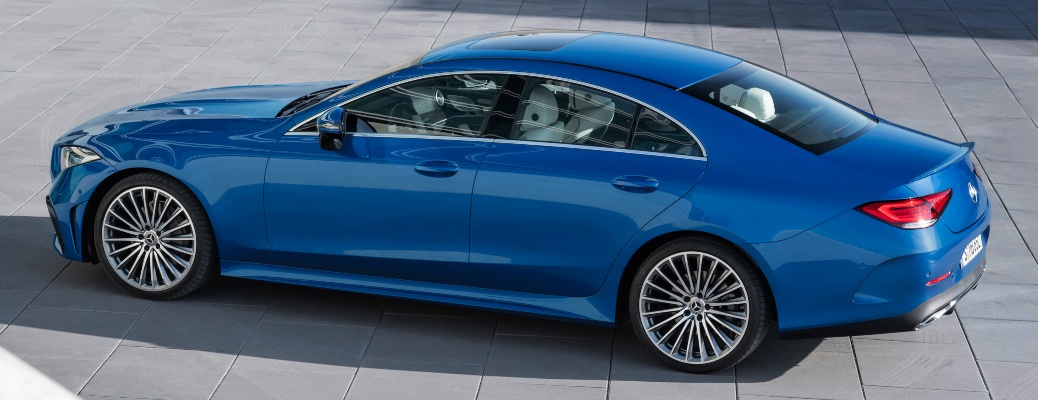 2022 Mercedes-Benz CLS blue driver's side view