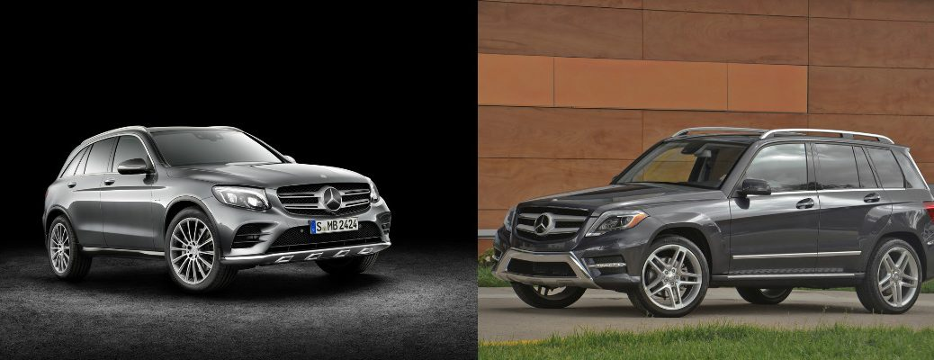 2016 Mercedes-Benz GLC vs. 2015 Mercedes-Benz GLK